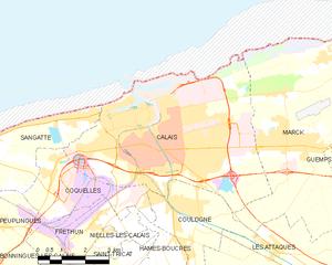 加来城区地图