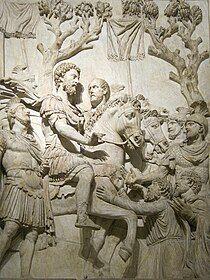 Scene from the Arch of Marcus Aurelius