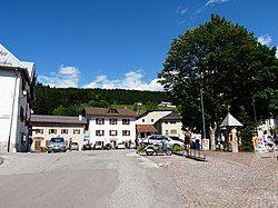 Square in Lusérn