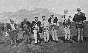 Skreli Tribesmen (W Le Queux).jpg