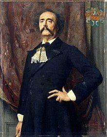 Portrait by Émile Lévy, 1882.