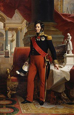 1841 portrait painting of Louis Philippe I (King of the French) by Winterhalter.jpg