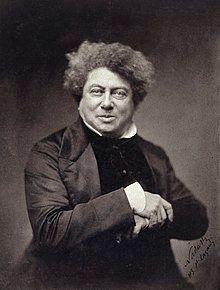 Dumas in 1855