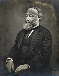 James Prescott Joule (1818-1889), seated, facing right. Phot Wellcome V0029563.jpg