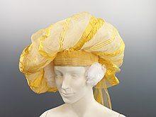 A British turban from ca. 1820