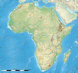 非洲、马达加斯加与科摩罗地图