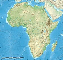 List of impact craters in Africa is located in Africa