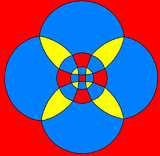 Rhombicuboctahedron stereographic projection square.png