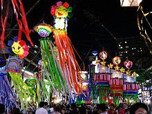 2009年日本平冢市的七夕节庙会