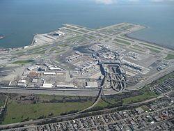 Aerial view of San Francisco International Airport 2010.jpg