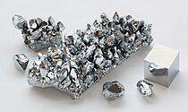 Image: A Chromium crystal bar