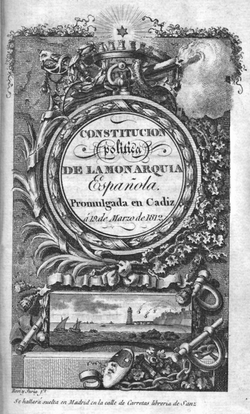 An original copy of the Constitution