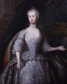 A portrait of Augusta at the time of her marriage