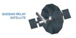 鹊桥号中继通信卫星模拟外表图