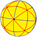 Spherical disdyakis dodecahedron