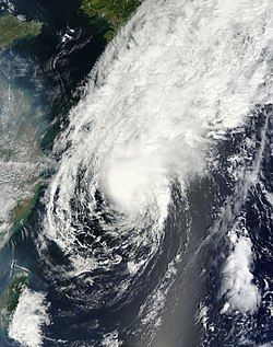 强热带风暴桃芝
