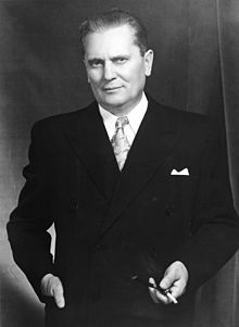 Marshal Tito, the President of the Federal People's Republic of Yugoslavia.jpg