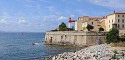 阿雅克肖堡垒的灯塔