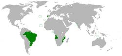 葡萄牙-巴西-阿尔加维联合王国 的位置