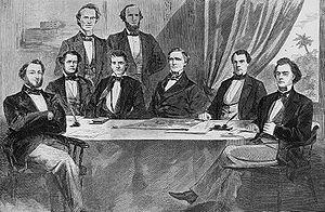 Original Confederate Cabinet