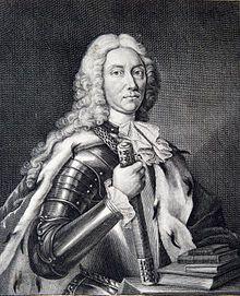 Dimitrie Cantemir - Portrait from Descriptio Moldaviae, 1716 (crop).jpg