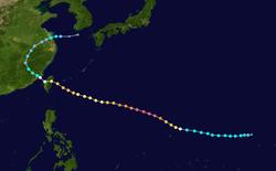 超强台风苏迪罗的路径图