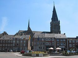 The centre of Aubel