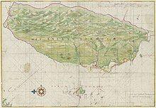 1640 Map of Formosa-Taiwan by Dutch 荷蘭人所繪福爾摩沙-臺灣.jpg
