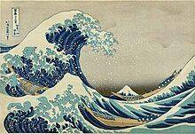 """The Great Wave off Kanagawa"" by Katsushika Hokusai. c. 1830."