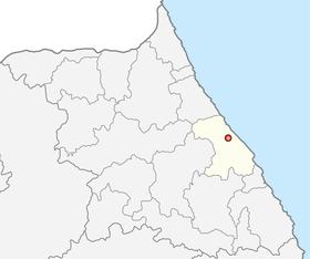 江陵市的位置