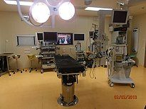 Computer-based telemedicine devices in operating room