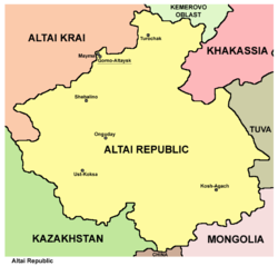 Altai republic map.png
