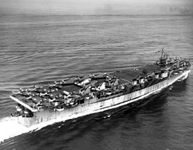 USS Cowpens (CVL-25) underway at sea on 17 July 1943 (80-G-K-74271).jpg