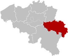 The Diocese of Liège, coextensive with the Liège Province