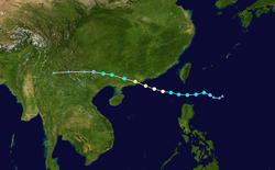 超强台风天鸽的路径图