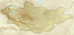 友谊峰在蒙古的位置