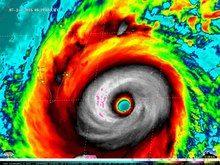 File:Super Typhoon Nepartak approaching Taiwan on July 7, 2016.webm