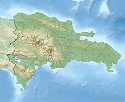 圣多明各在多米尼加的位置