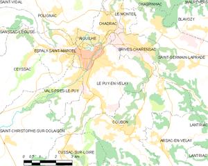 勒皮市镇地图