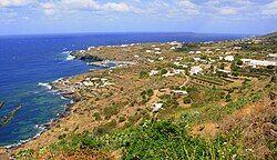 Panorama of Pantelleria