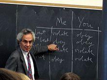 Thomas Nagel teaching Ethics.JPG
