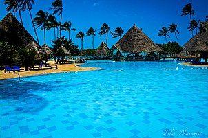 A five-star resort on the northern part of Zanzibar