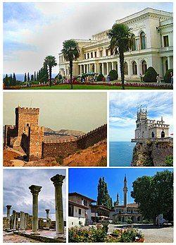 Collage of Crimean culture