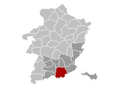 Tongeren Limburg Belgium Map.png
