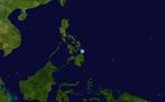 Bising (PAGASA) 2009 track.png