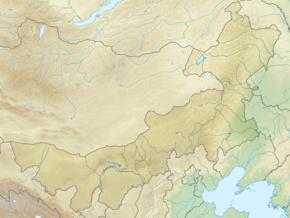 赤峰市博物馆在内蒙古的位置