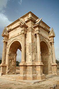 Leptis Magna Arch of Septimus Severus.jpg