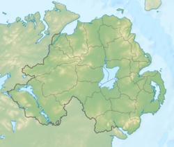 Williamite War in Ireland is located in Northern Ireland