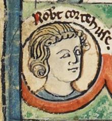 Robert Curthose - MS Royal 14 B VI.png