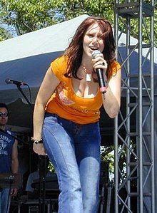 Tiffany on stage 2003.jpg